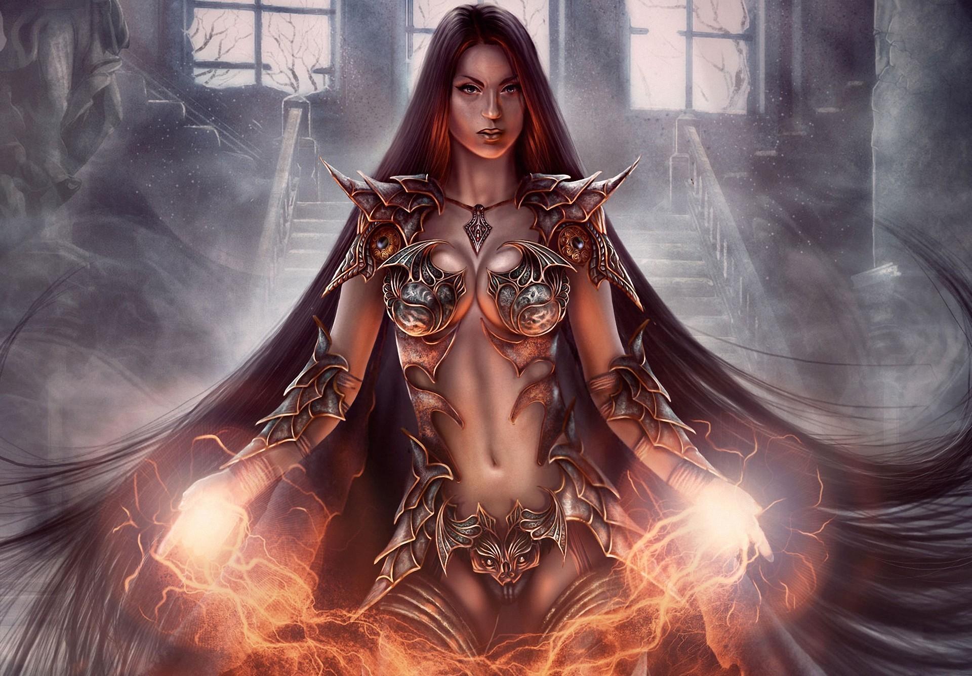 Warrior girls hentia scenes