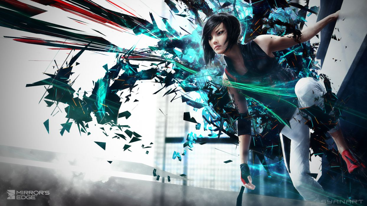 Mirrors Edge Games Girls Sci-fi Girl Wallpaper