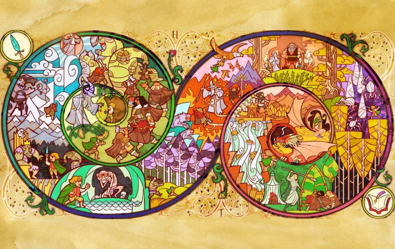 The Lord of the Rings The Hobbit fantasy wallpaper