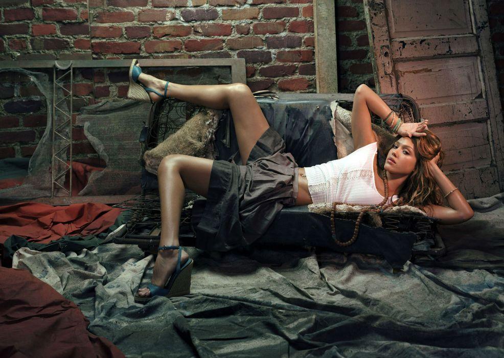 Jessica Alba actress women     f wallpaper