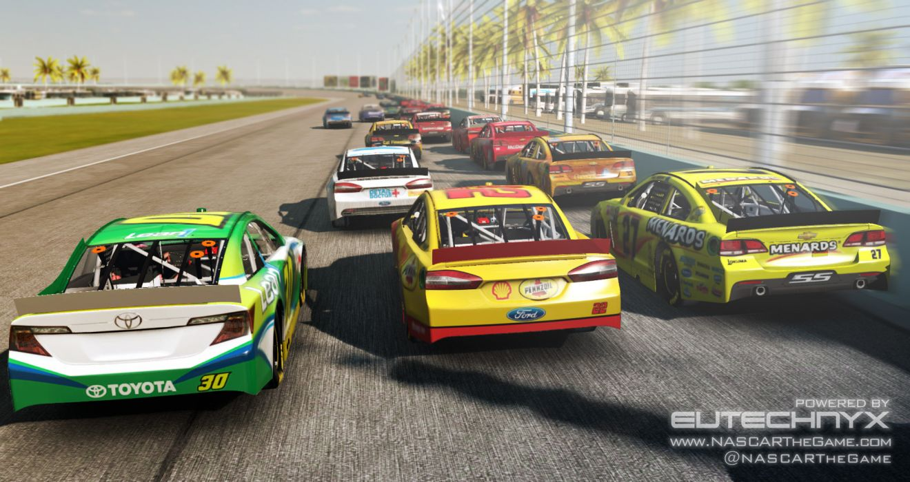 NASCAR The Game 2013 race racing       ds wallpaper