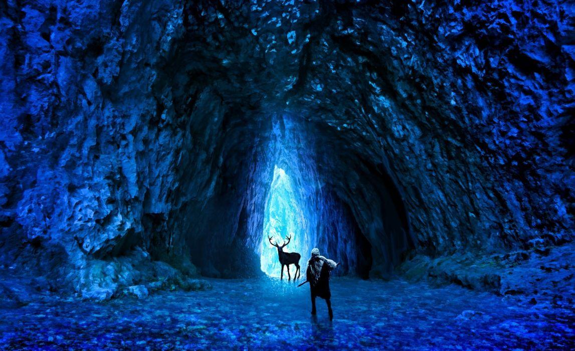 Romantically Apocalyptic heroes comics comic sci-fi futuristic dark deer fantasy   d wallpaper