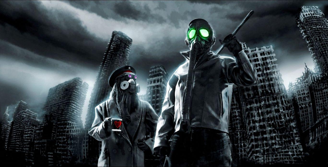 Romantically Apocalyptic heroes comics comic sci-fi futuristic dark mask     dp wallpaper