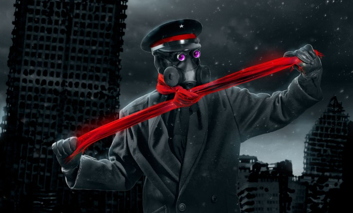 Romantically Apocalyptic heroes comics comic sci-fi futuristic dark mask     b wallpaper