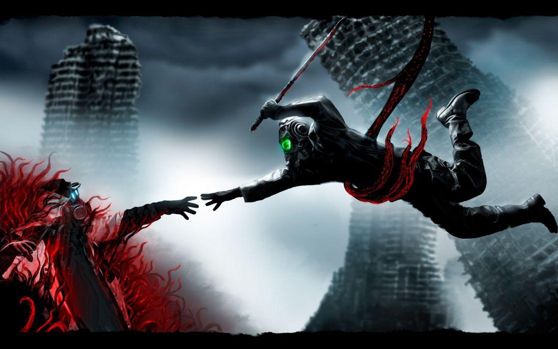 Romantically Apocalyptic heroes comics comic sci-fi futuristic dark mask     k wallpaper