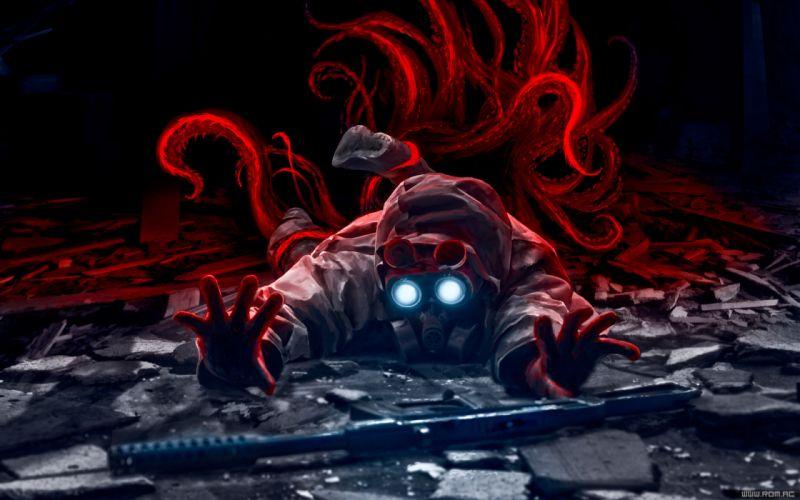 Romantically Apocalyptic heroes comics comic sci-fi futuristic dark mask q wallpaper