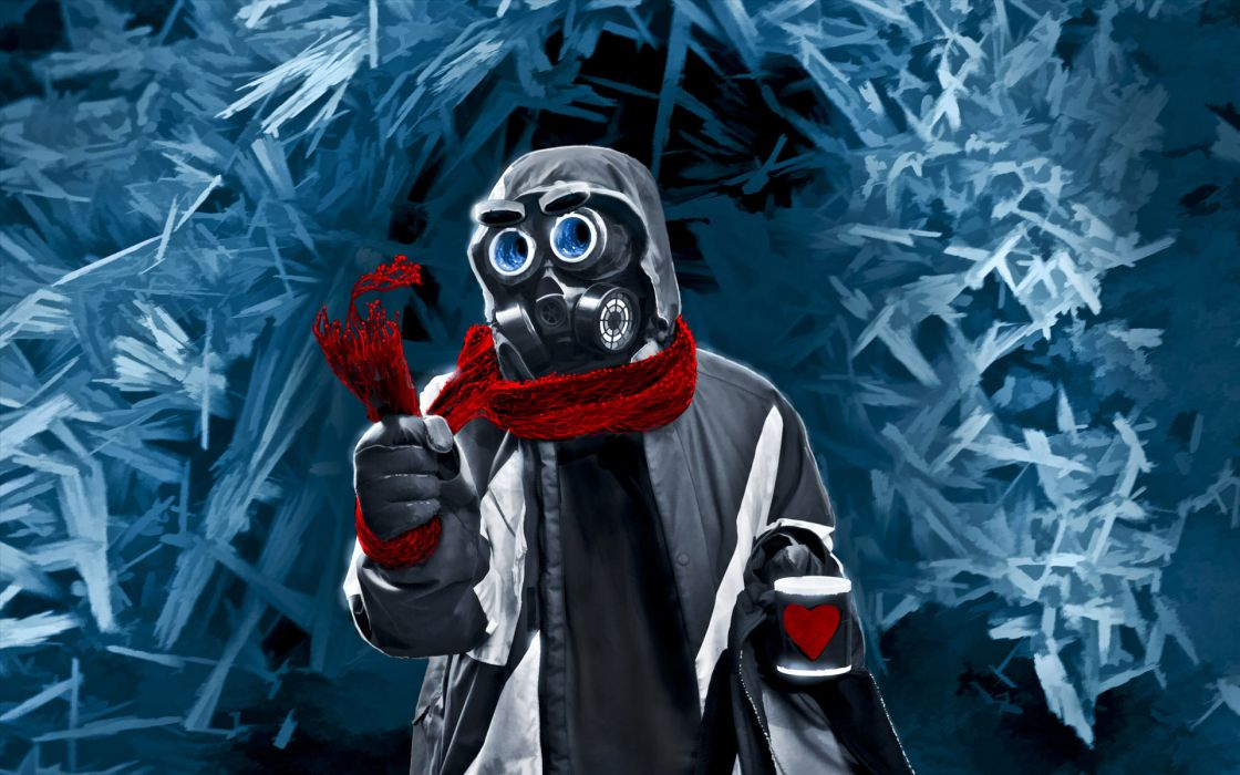 Romantically Apocalyptic heroes comics comic sci-fi futuristic mask dark     s wallpaper