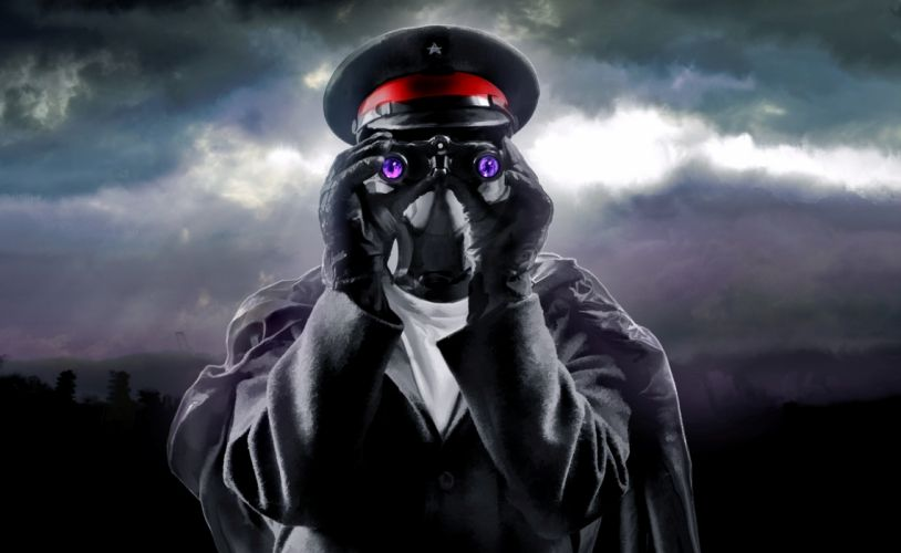 Romantically Apocalyptic heroes comics comic sci-fi futuristic mask wallpaper