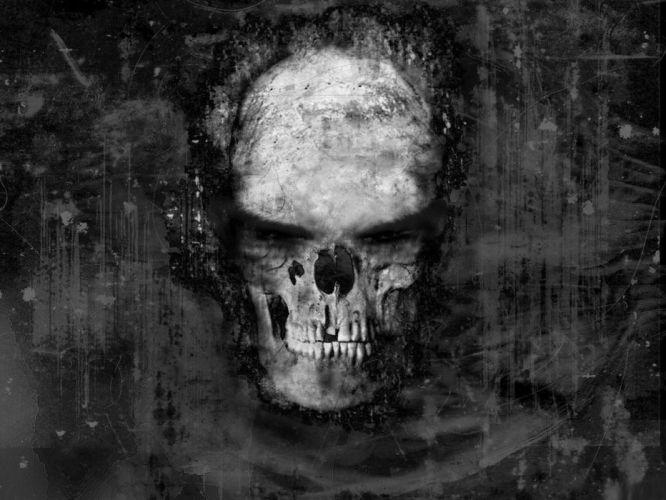 skull skulls dark ds wallpaper