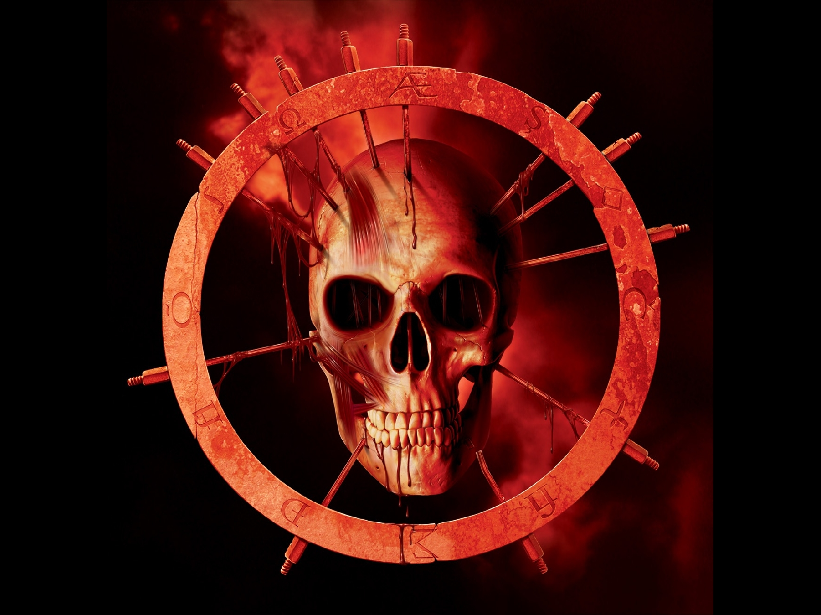 bloody skull wallpaper related - photo #28