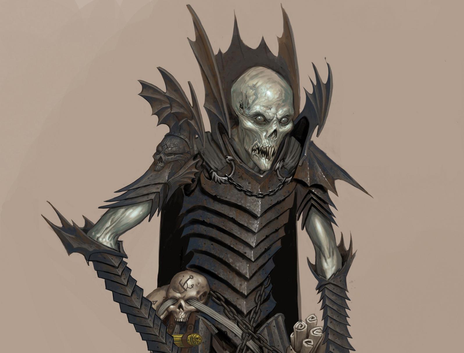 monster skull black wallpaper - photo #33