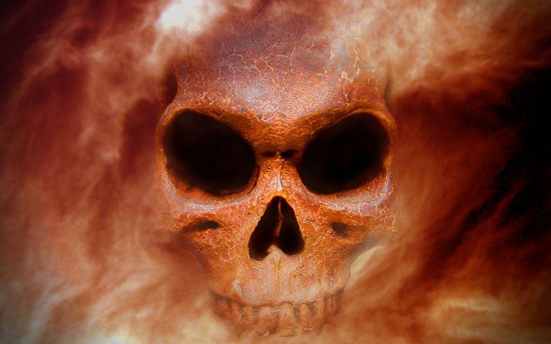 skull skulls dark wallpaper