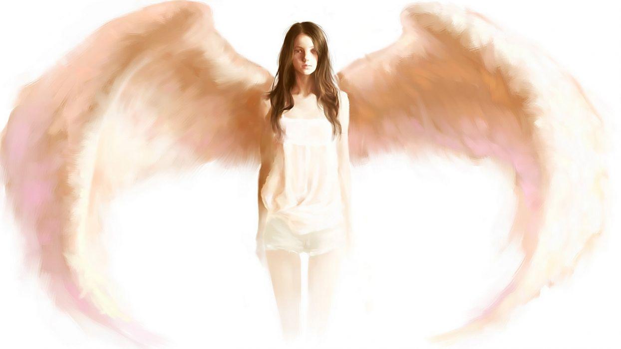 Angels Fantasy Girls angel wallpaper