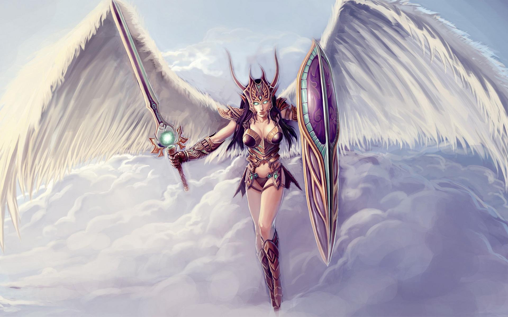 angel warrior sword wings - photo #18