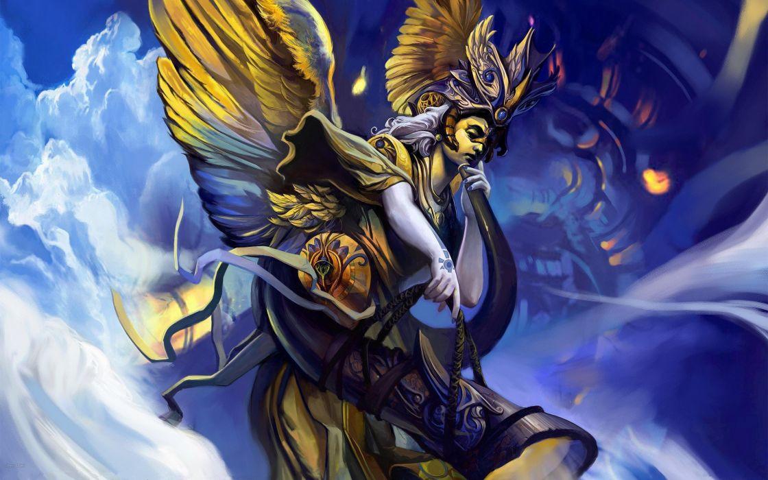 Angels Fantasy angel    s wallpaper