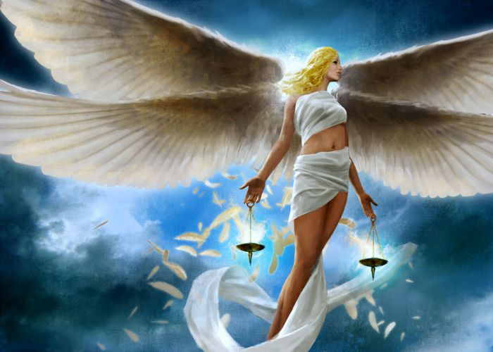 Angels Fantasy Girls girl blonde angel feathers feather wallpaper