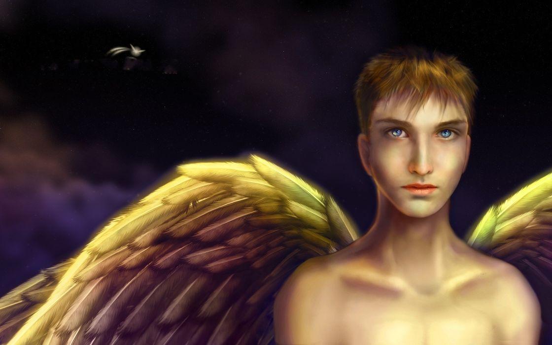 Angels Wings Fantasy angel  h wallpaper