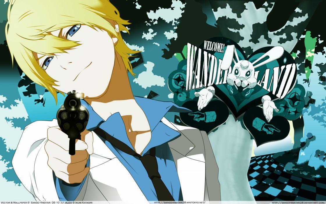 are you alice blonde hair blue eyes ikumi katagiri wallpaper