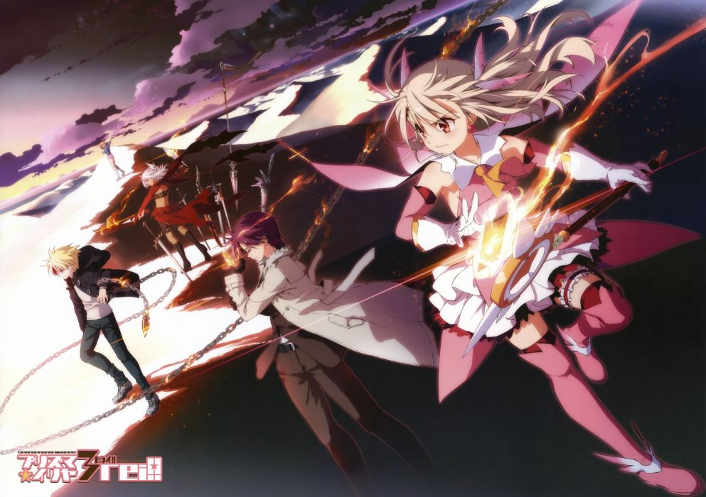 fate stay night fate kaleid liner prisma illya scan tagme wallpaper