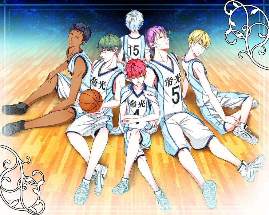 Kuroko no Basket Kiseki no Sedai wallpaper