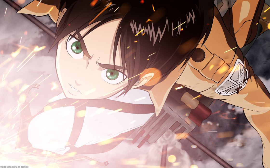Shingeki no Kyojin Eren Jaeger wallpaper