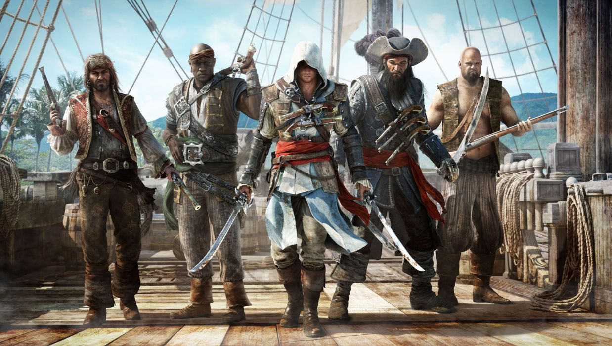 Assassins Creed Warriors Men Pirates Games warrior weapon sword weapons pirates pirate wallpaper