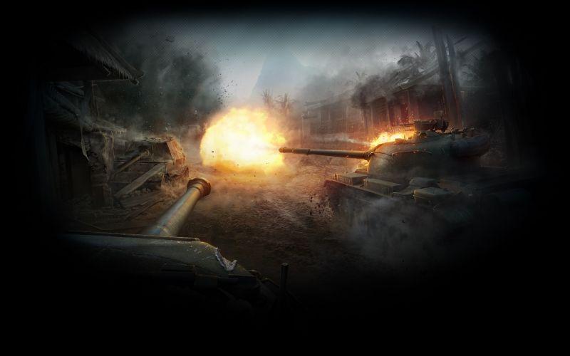World of Tanks Firing Games military wallpaper