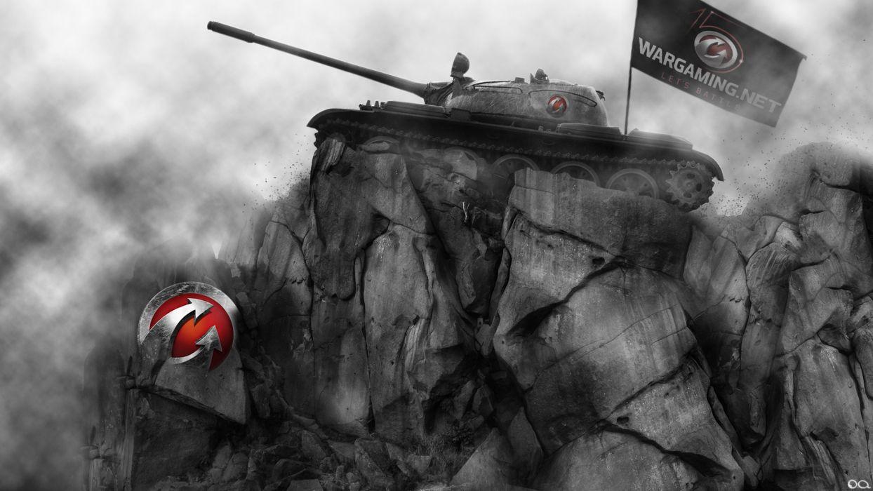 World of Tanks Tanks T-54 Crag Games military wallpaper