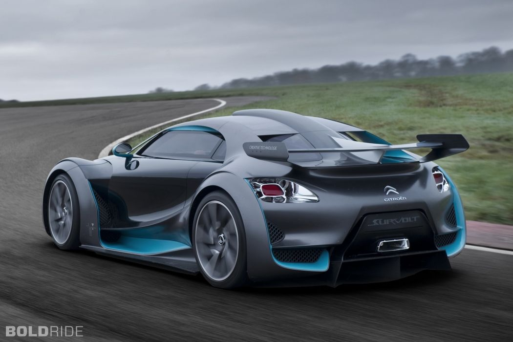2010 Citroen Survolt Concept supercar supercars      gd wallpaper