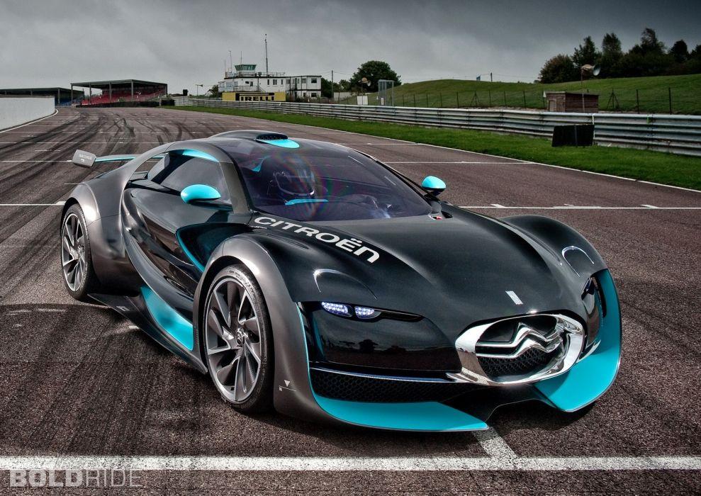 2010 Citroen Survolt Concept supercar supercars     fs wallpaper
