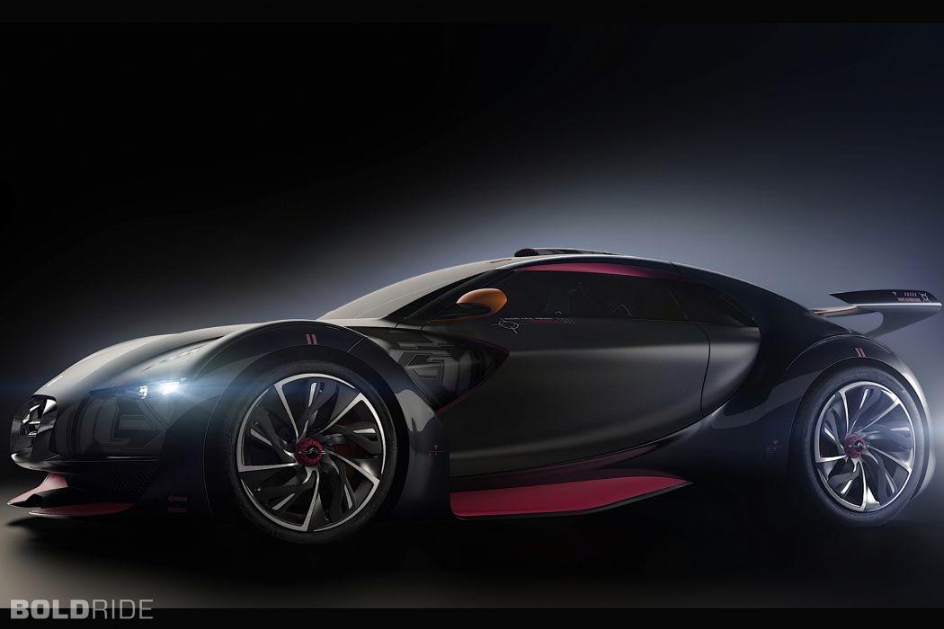2010 Citroen Survolt Concept supercar supercars    f wallpaper