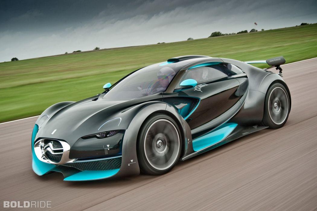 2010 Citroen Survolt Concept supercar supercars    fd wallpaper