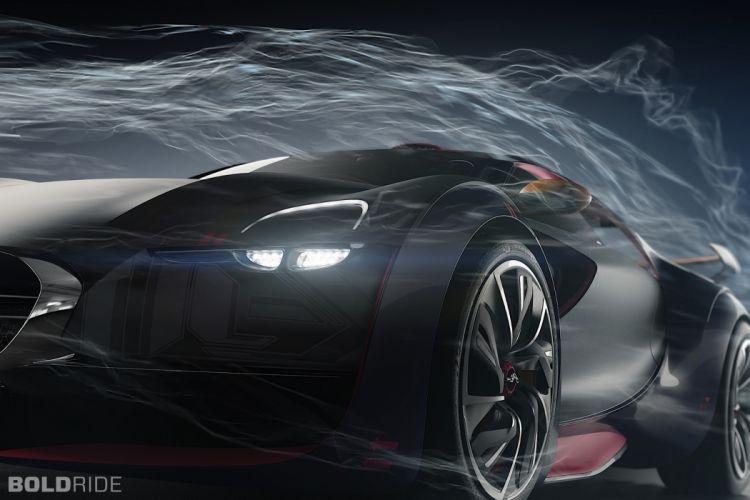2010 Citroen Survolt Concept supercar supercars wheel wheels d wallpaper