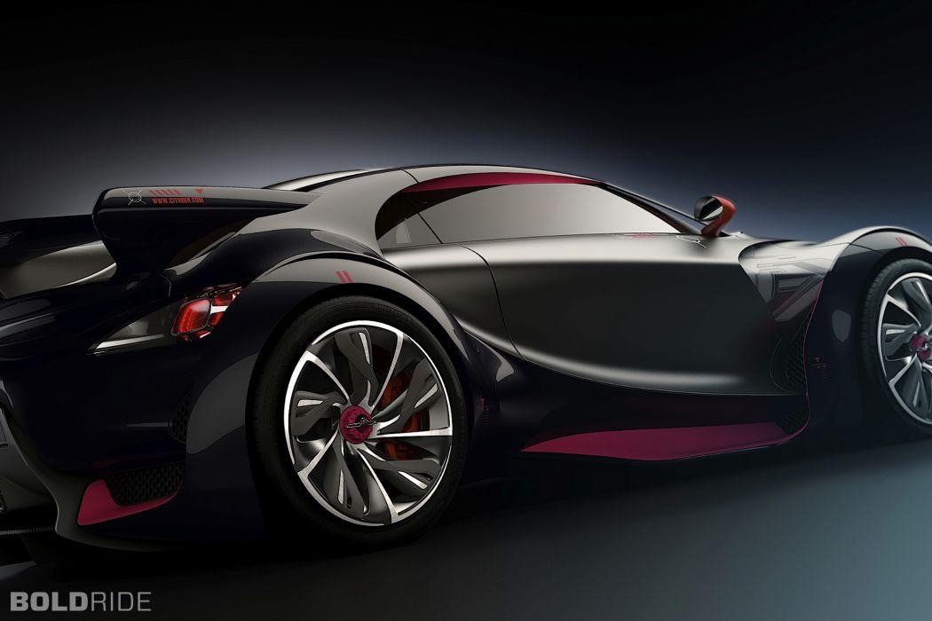 2010 Citroen Survolt Concept supercar supercars wheel wheels wallpaper