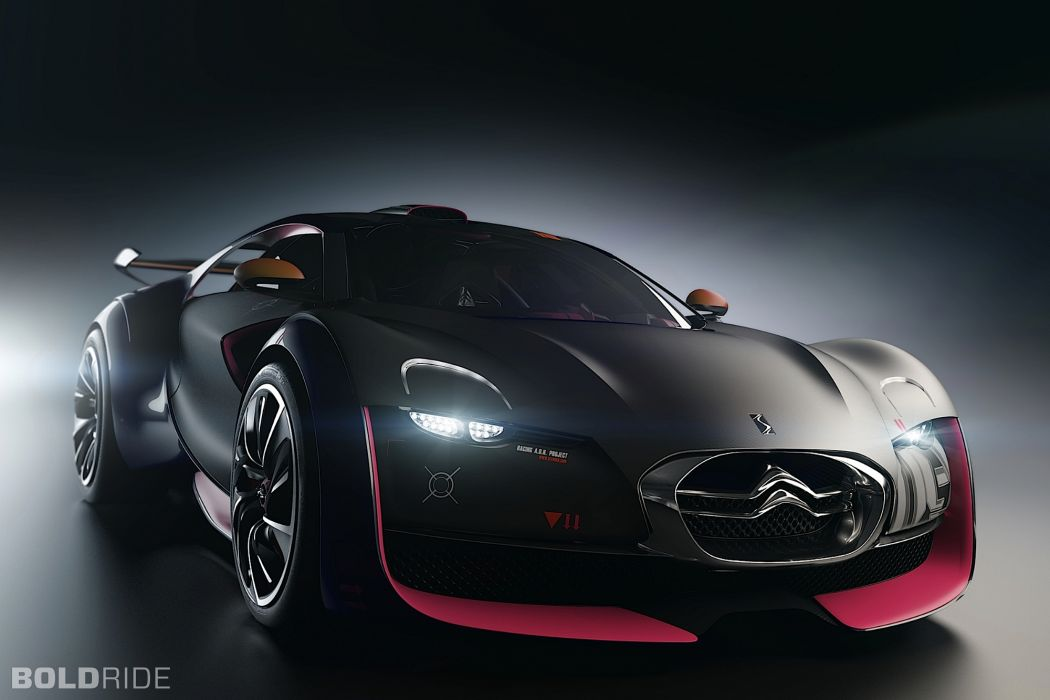 2010 Citroen Survolt Concept supercar supercars wallpaper