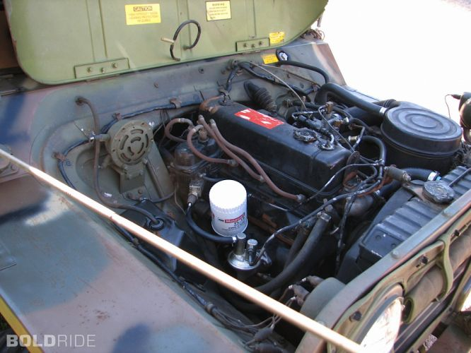 1970 Ford M151-A2 Mutt Military Jeep offroad 4x4 engine engines wallpaper