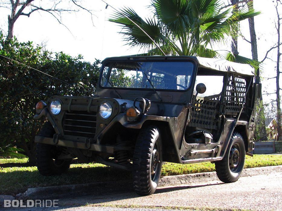 1970 Ford M151-A2 Mutt Military Jeep offroad 4x4 wallpaper