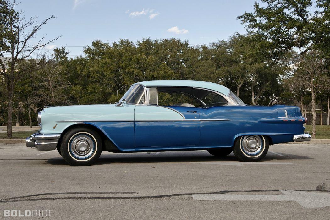 1956 Pontiac Chieftain retro        d wallpaper