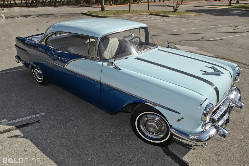 1956 Pontiac Chieftain retro     f wallpaper