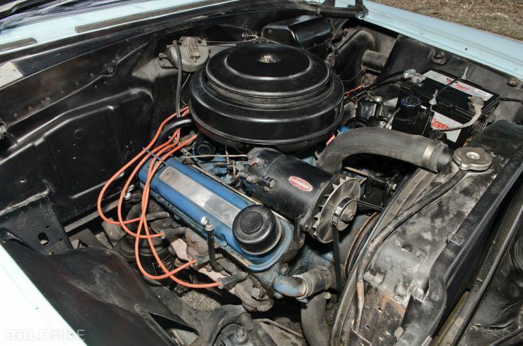 1956 Pontiac Chieftain retro engine engines wallpaper