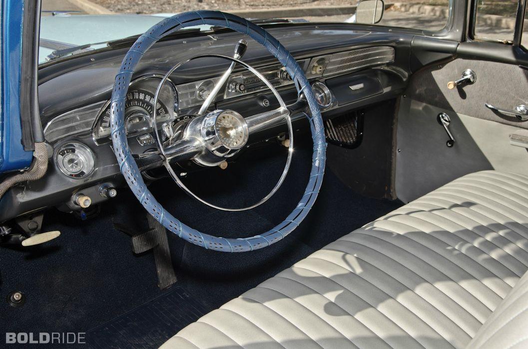 1956 Pontiac Chieftain retro interior wallpaper