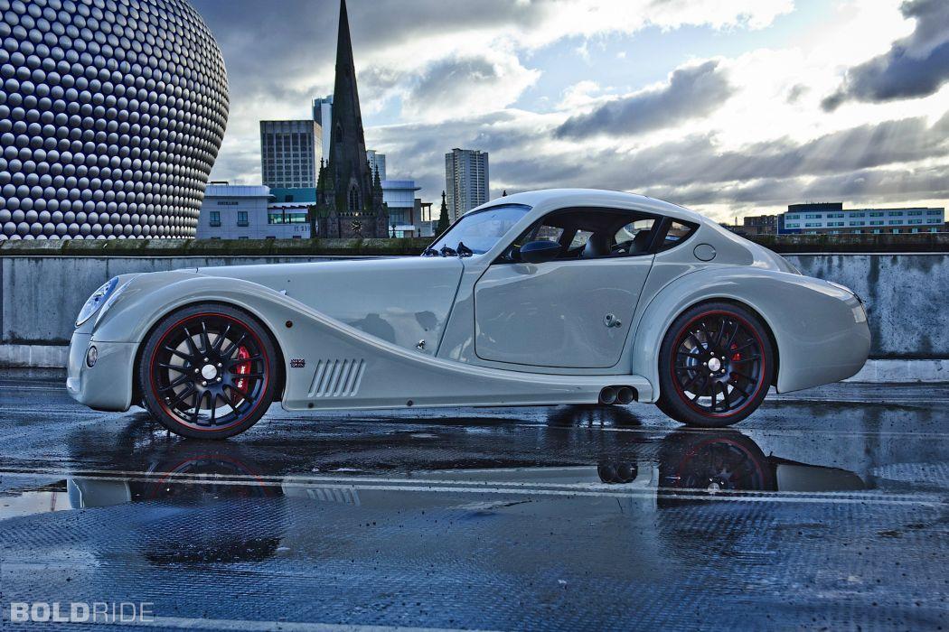 2012 Morgan Aero Coupe supercar supercars reflection wallpaper