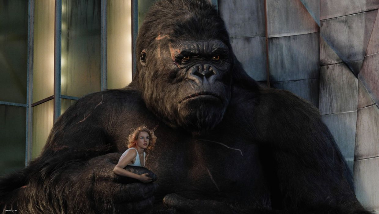 Ape Naomi Watts Blonde king kong gorilla actress wallpaper