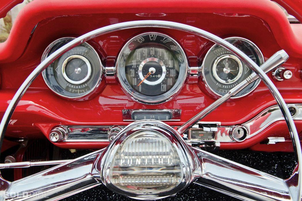 1959 Pontiac Catalina Convertible retro interior      r wallpaper