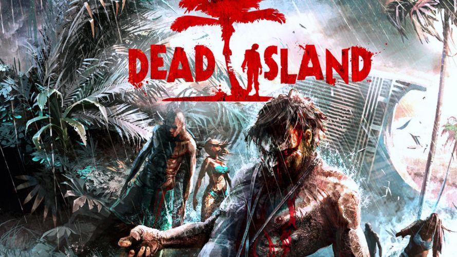 Dead Island Zombie Games dark zombie t wallpaper