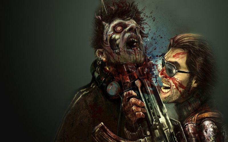 Dead Island Zombie Games dark zombie blood horror macabre gross wallpaper