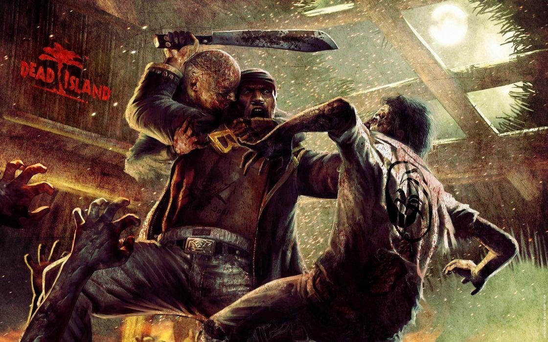 Dead Island Zombie Games dark zombie wallpaper