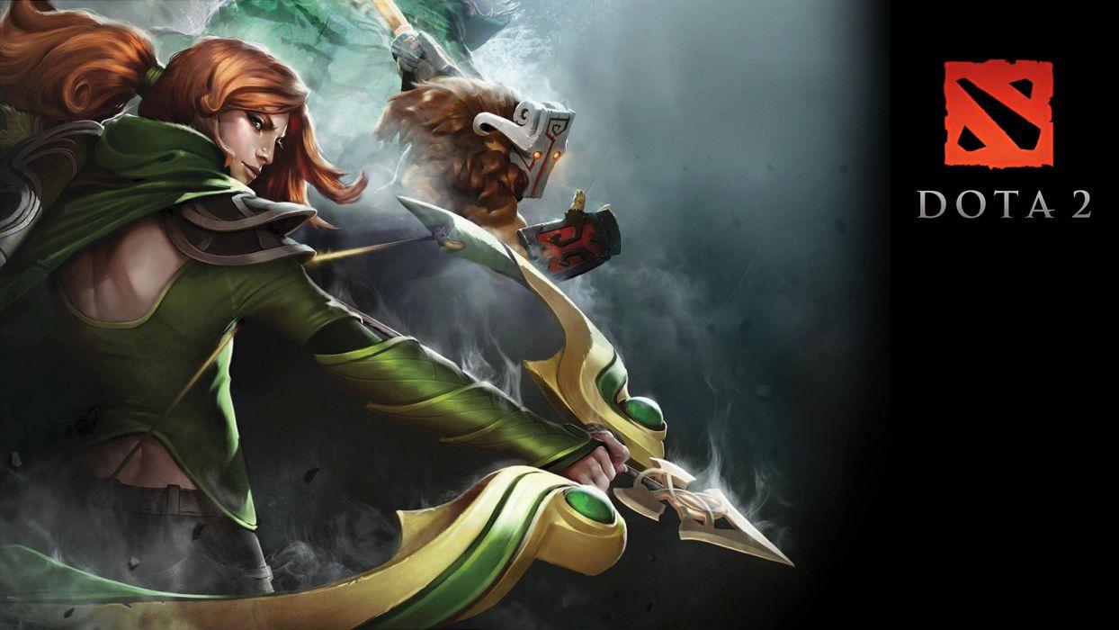 Dota Bow fantasy warrior warriors wallpaper