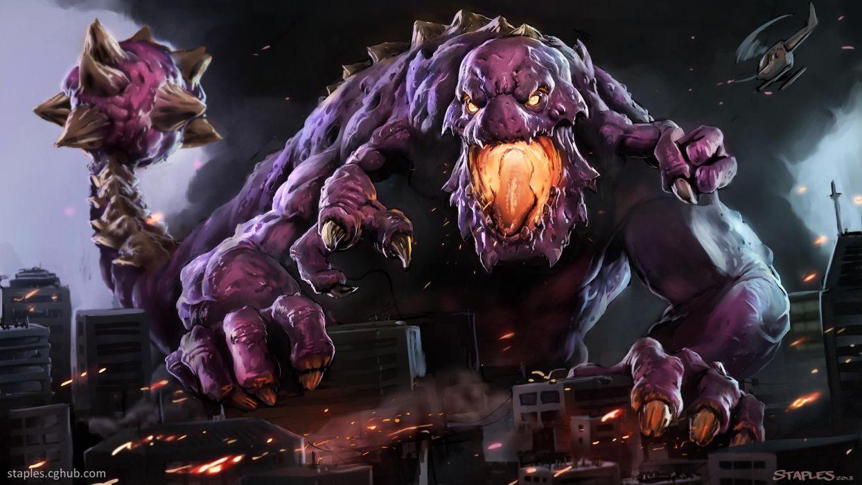 fantasy dark monster monsters creature creatures wallpaper