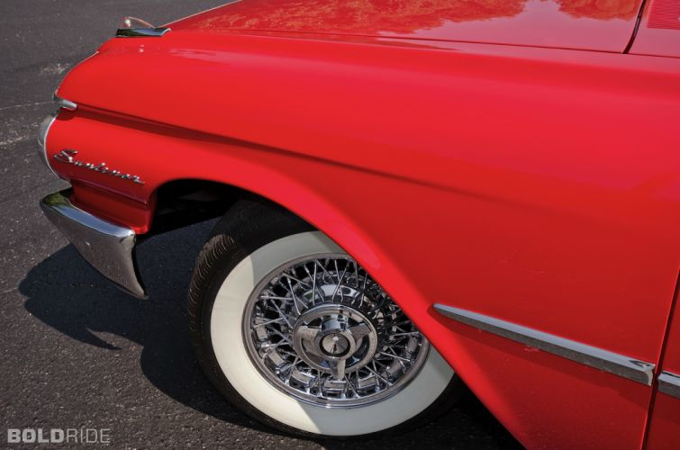 1961 Ford Galaxie Sunliner Convertible classic luxury wheel wheels r wallpaper